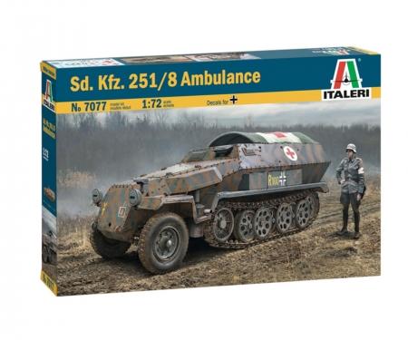 carson 1:72 Sd.Kfz. 251/8 Ambulance