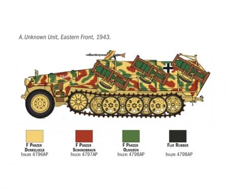 """carson 1:72 Sd.Kfz. 251/1 """"Stuka Zu Fuss"""""""