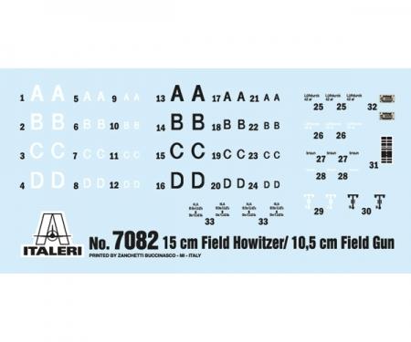 carson 1:72 15cm FieldHowitzer/ 10,5cm FieldGun