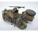 carson 1:9 Deut.Militärmotorrad mit Seitenwagen