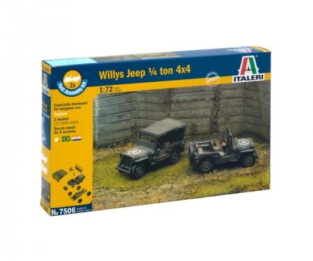 1:72 1/4 Ton 4x4 Truck