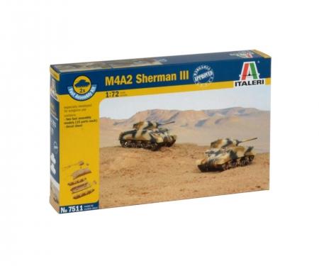 1:72 M4A2 Sherman III (2 fast ass. Mod.)