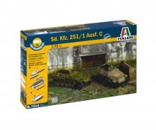 1:72 SD.Kfz.251/1 Ausf. D Fast Assm. Kit