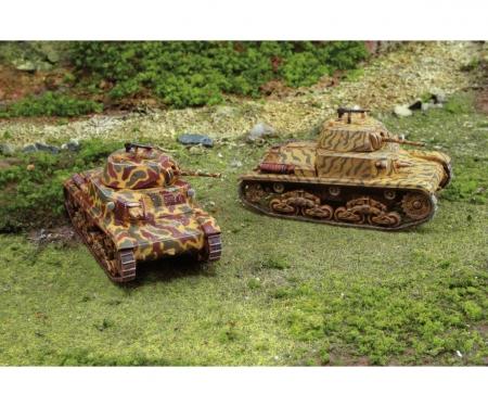 1:72 Carro Armato M13/40, 2 pcs