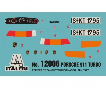 carson ITALERI Porsche 911 Turbo