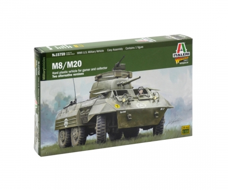 1:56 M8 / M20 (Tank Dirver included)