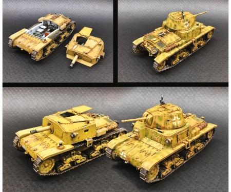 carson 1:56/28mm It. Panzer u. Semovente Set