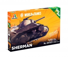carson 1:72 Sherman WoT Fast Assembly Kit