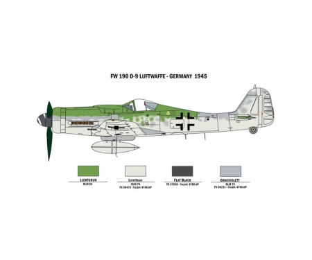 carson 1:72 BF109 F-4 and FW 190 D9 War Thunder