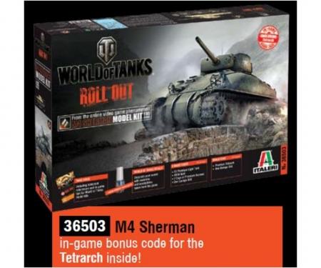 1:35 US M4 Sherman WoT