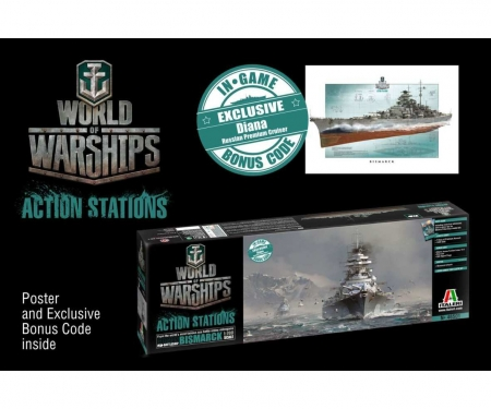 1:700 Bismarck - World of Warships