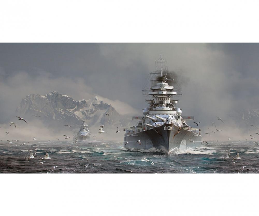 1:700 Bismarck - World of Warships - Others - Plastic Models
