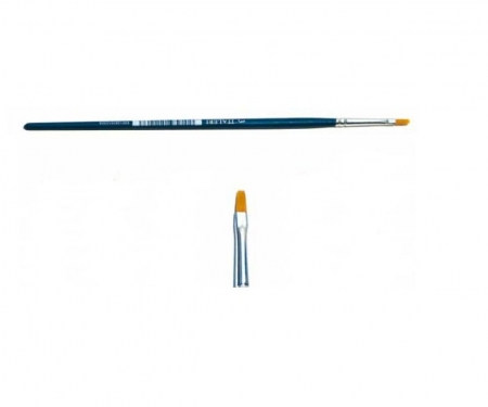 carson 1 Brush Synthetic Flat - SINGLE PACK