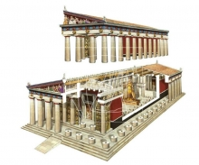 carson 1:72 PARTHENON easy assembly kit