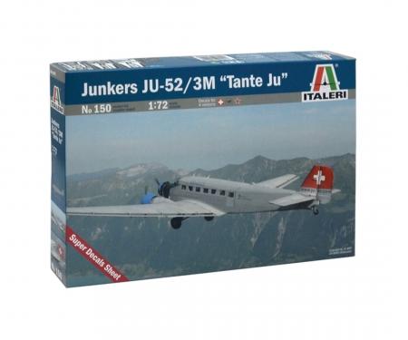 "carson 1:72 JUNKERS JU-52 3/m ""TANTE JU"" LH"