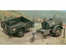 1:35 Gal.S TankTrailer+M101 KargoTrailer