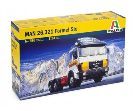 1:24 MAN 26.321 Formel 6 6X4