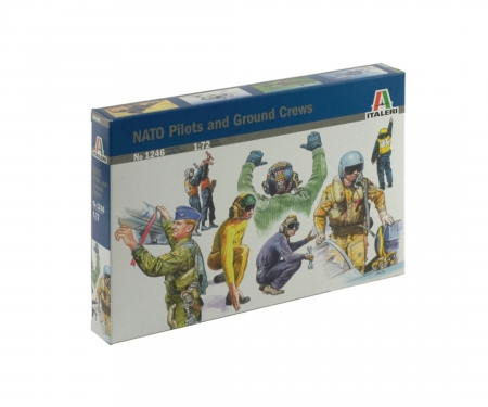 carson 1:72 NATO Pilots and Ground Crew