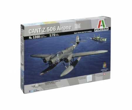 carson 1:72 CANT.Z 506 Airone Historic Upgrade