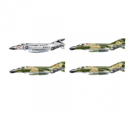 carson 1:72 F-4 C/D/J Phantom Aces