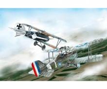 carson 1:72 S.E.5a and Albatros D.III (WWI)