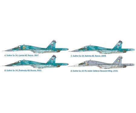 "carson 1:72 SUKHOI SU-34 ""Fullback"""