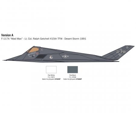 carson 1:48 F-117A Nighthawk