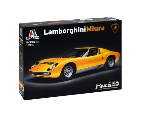 carson 1:24 Lamborghini Miura