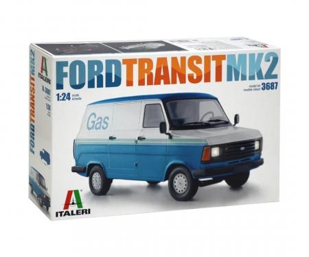 carson 1:24 Ford Transit Mk. II