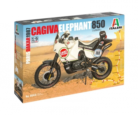 carson 1:9 Cagiva Elephant 850 Winner 1987