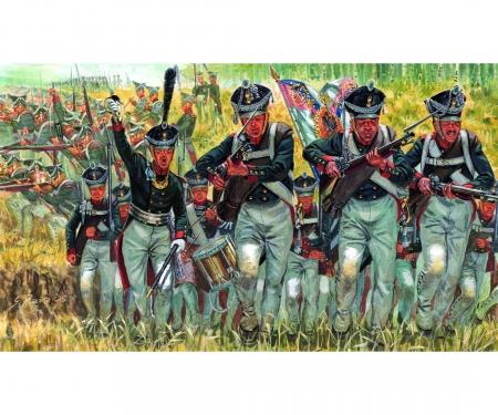 carson 1:72 Napoleon. Kriege - Russ. Infanterie