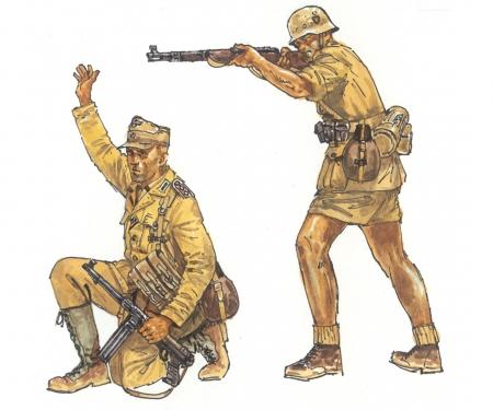 carson 1:72 WW2 - German Afrika Corps