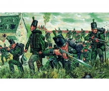 "carson 1:72 95th Regiment ""Green Jackets"""