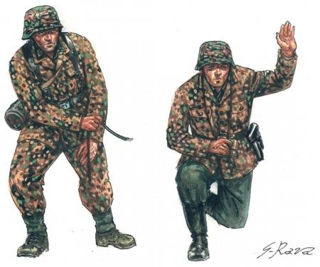 1:72 WWII German PAK40 AT Gun w/servants