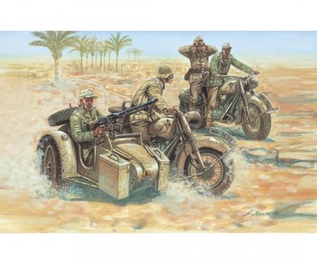 carson 1:72 WWII Deutsche Motorräder