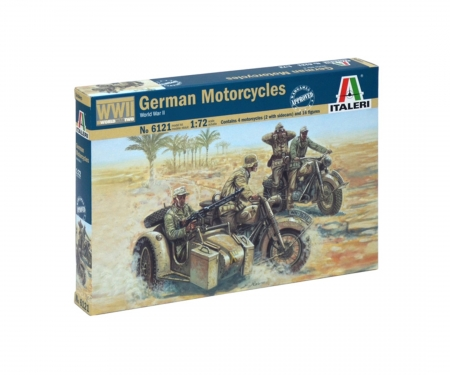carson 1:72 WWII German Motorcycles