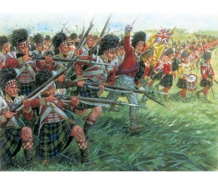 carson 1:72 Fig.-Set Schottische Infanterie