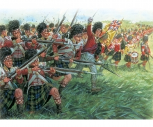 carson 1:72 Fig.-Set Scottosh Infantry