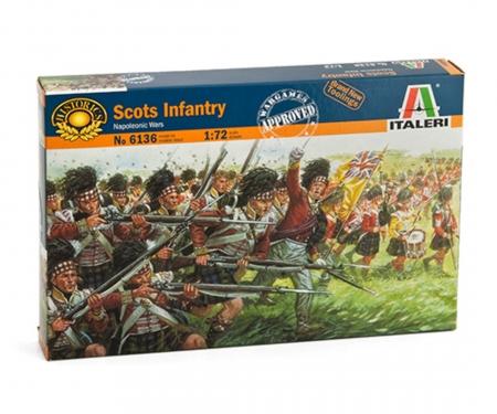 carson 1:72 Fig.-Set Scottosh Infantry