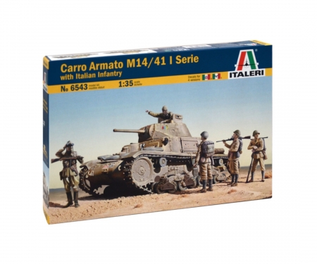 carson 1:35 M14/41 with Italian Infantry
