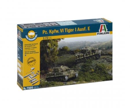carson 1:72 Pz.Kpfw.VI Tiger I Ausf.E 2 easykit