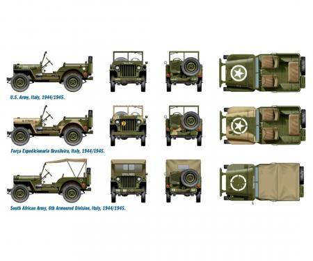 carson 1:72 1/4 Ton 4x4 Truck