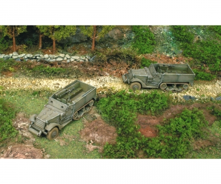 carson 1:72 M3A1 Half Truck  2 easykit