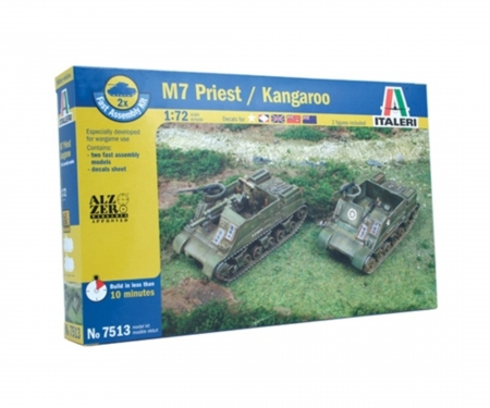 1:72 US M7 Priest 105mm/Kang. Fa.Ass.Kit
