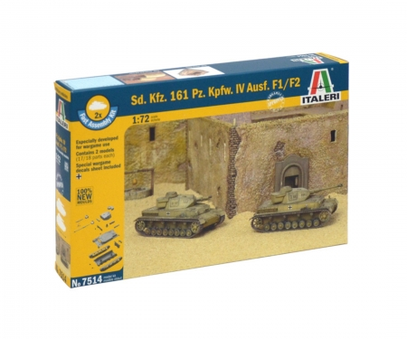 carson 1:72 SdKfz.161 PzKpfw. IV F1 Fast As.Kit