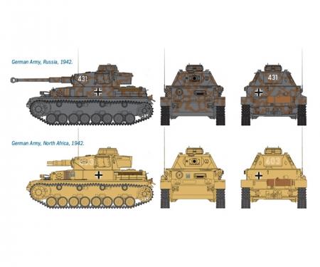 carson 1:72 SdKfz.161 PzKpfw. IV F1 Fast As.Kit