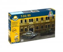 carson 1:72 Rus. Panzer T-34/85 Fast Assm. Kit