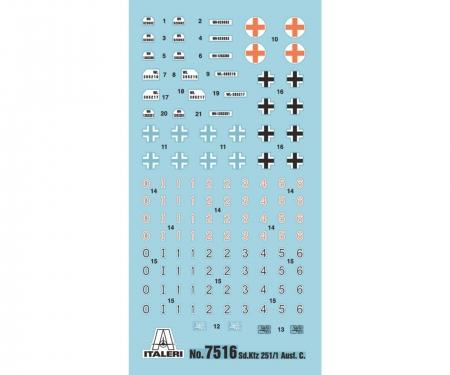 carson 1:72 SD.Kfz.251/1 Ausf. C Fast Assm. Kit