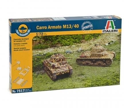 carson 1:72 Panzer M13/40, 2 pcs