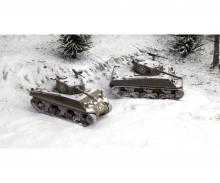 carson 1:72 M4A3 76mm (Fast Ass. Kit) 2 Modelle
